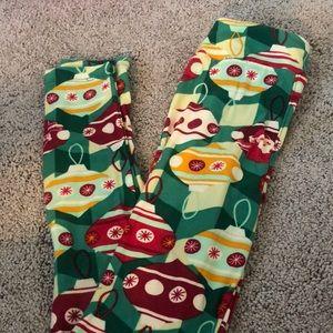 Other - Girl's christmas leggings